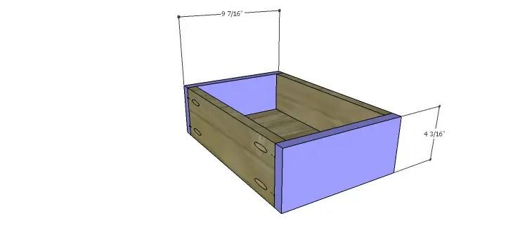 Presley 5-Drawer Table Plans-Lg Drawer FB