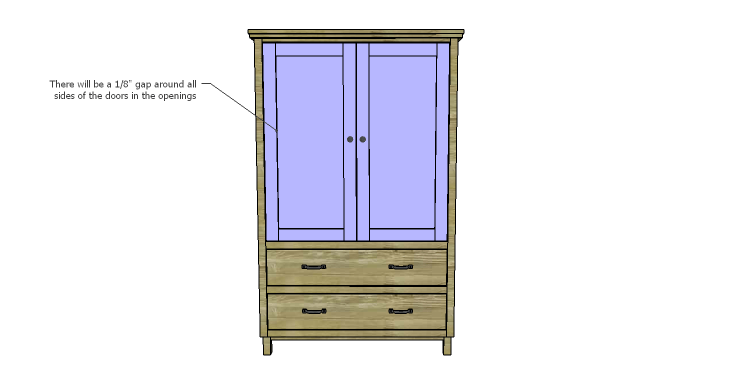 DIY Plans to Build a Starling Armoire_Doors 2