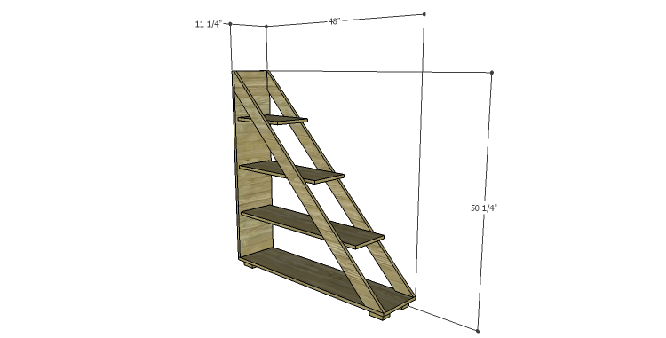 DIY Plans to Build a Henry Bookcase