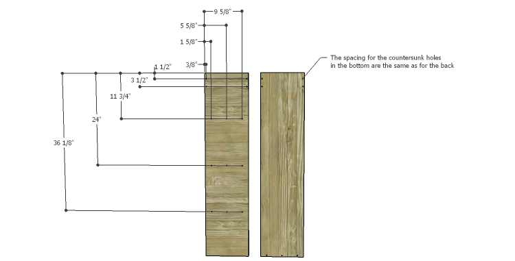 DIY Plans to Build a Henry Bookcase_Back & Bottom 1
