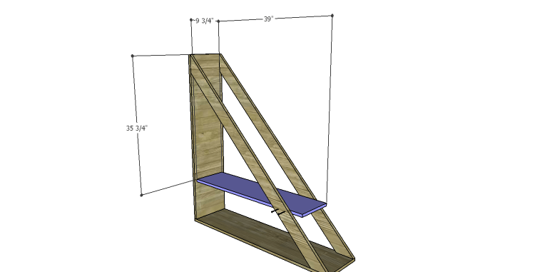 DIY Plans to Build a Henry Bookcase_Shelf 1