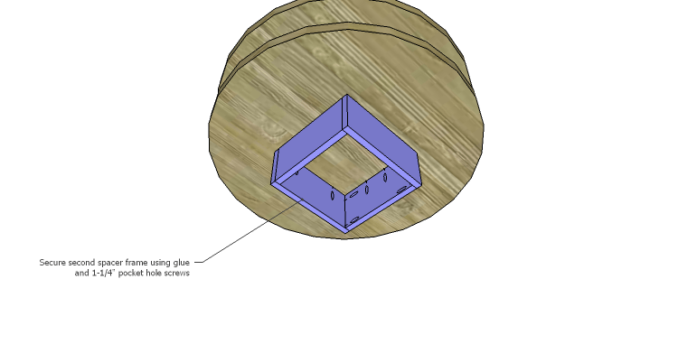 DIY Plans to Build a Round Shelf Coffee Table_Frame 2
