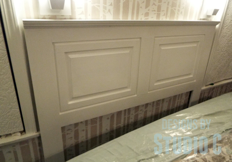 how to build a headboard with old cabinet doors. Black Bedroom Furniture Sets. Home Design Ideas
