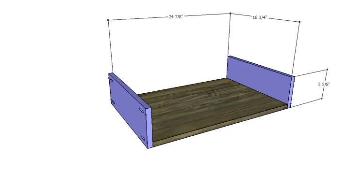 DIY Plans to Build the Ava Chest of Drawers_Lg Drawer BS