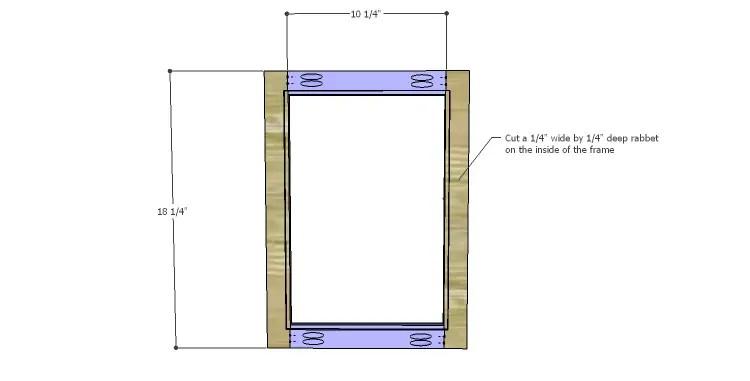 DIY Plans to Build a Valerie Nightstand_Door 1