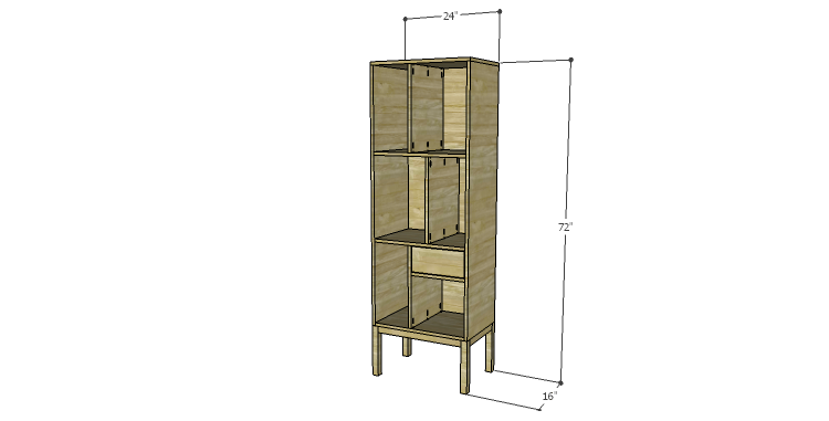 DIY Plans to Build a Daisy Bookcase