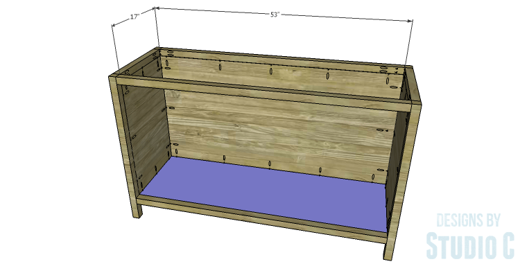 DIY Plans to Build a Mosaic Cabinet_Bottom