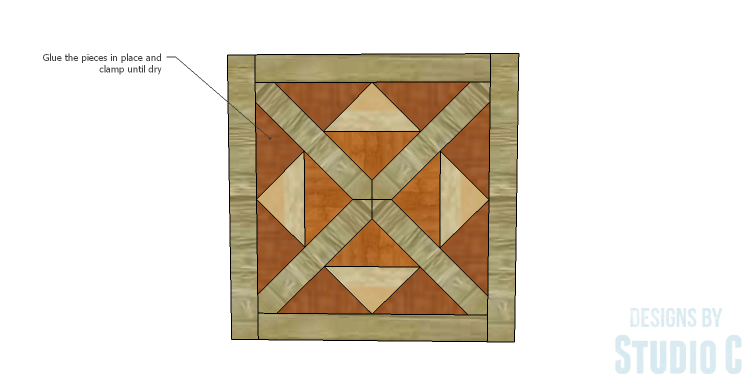 DIY Plans to Build a Mosaic Cabinet_Doors 3