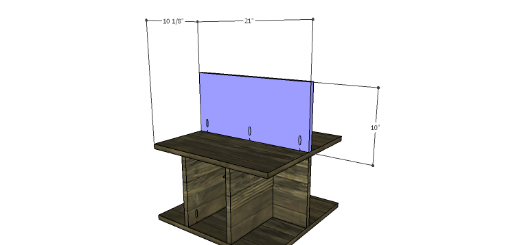 DIY Plans to Build a Warner Storage Shelf_Upper Divider 1
