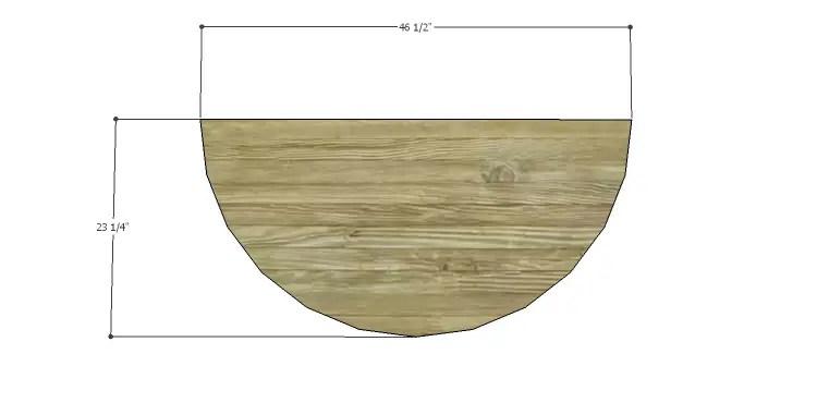 DIY Plans to Build a Davidson Console Table_Top 1