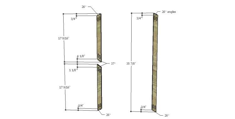 DIY Plans to Build a Davidson Console Table_X 1