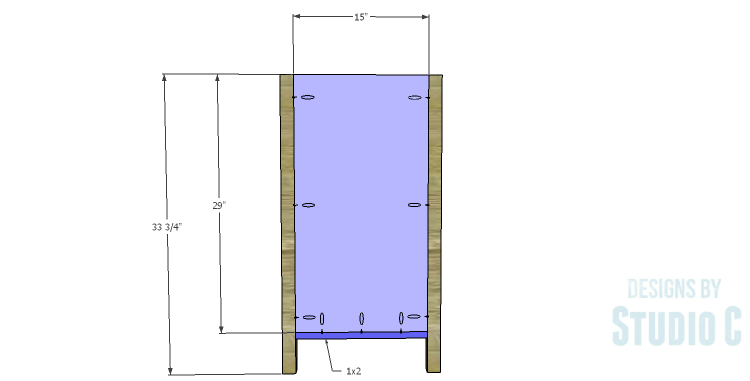 DIY Plans to Build a Matteo Drawer Cabinet_Sides