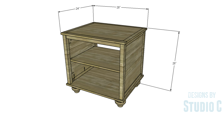 DIY Plans to Build a Lila End Table