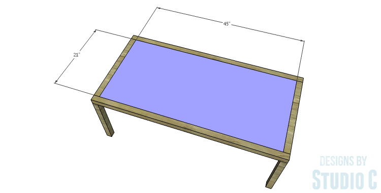 DIY Plans to Build a Simply Classic Coffee Table_Top