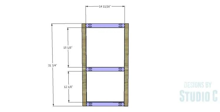DIY Plans to Build a Frances Buffet_Door Frame