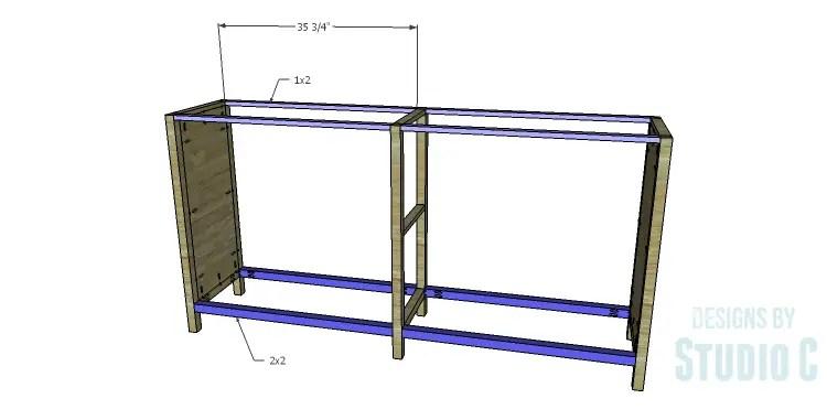 DIY Plans to Build a Frances Buffet_Stretchers