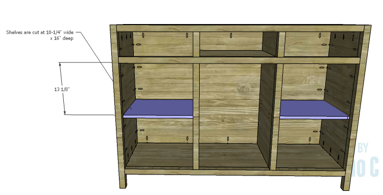 DIY Plans to Build a Doyle Cabinet_Outer Shelves