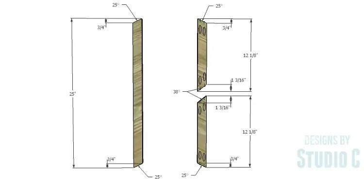 DIY Plans to Build a Doyle Cabinet_X Detail 1