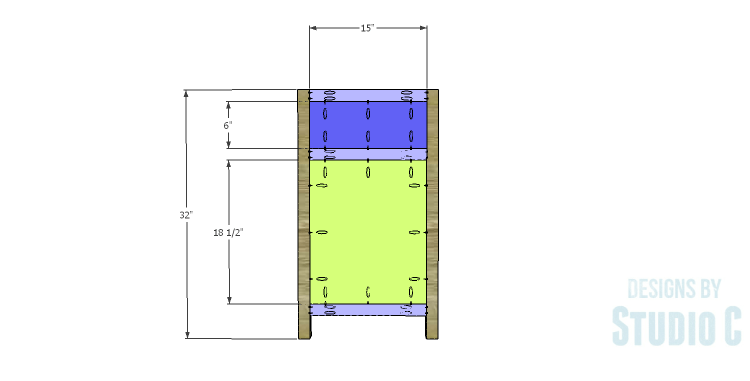 DIY Plans to Build a Carney Media Stand_Sides