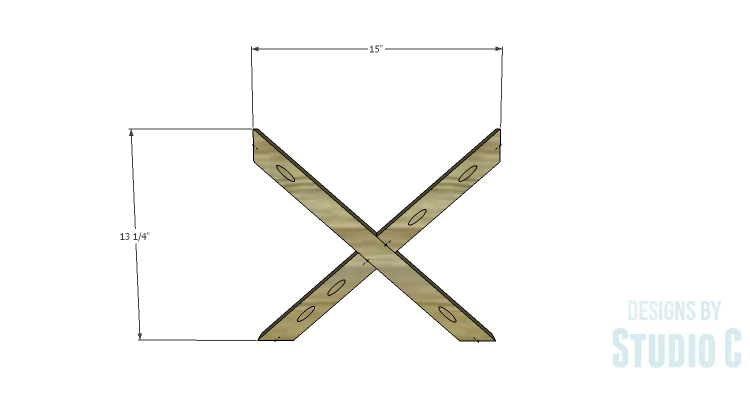 DIY Plans to Build a Riley End Table_Sides 2