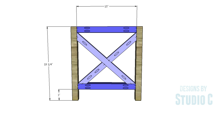 DIY Plans to Build a Riley End Table_Sides 3