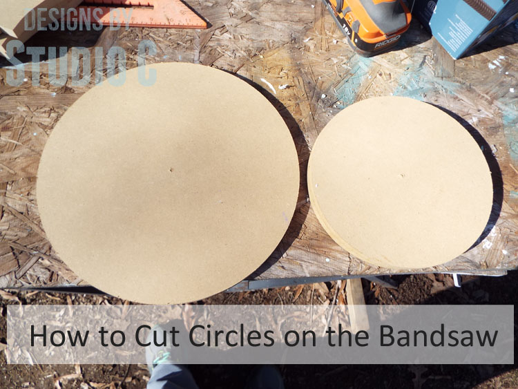 How to Cut Circles Using a Bandsaw_Featured