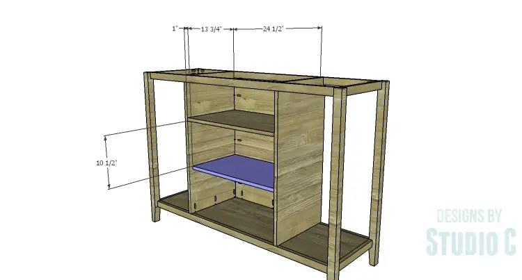 DIY Plans to Build an Arden Buffet_Cabinet Shelf