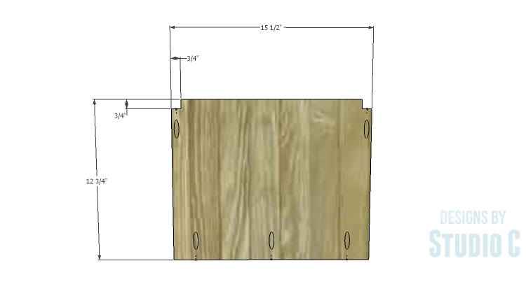 DIY Plans to Build an Arden Buffet_Outer Shelves 1