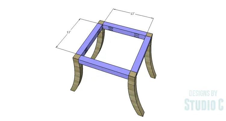 DIY Plans to Build a Pi Footstool_Framing