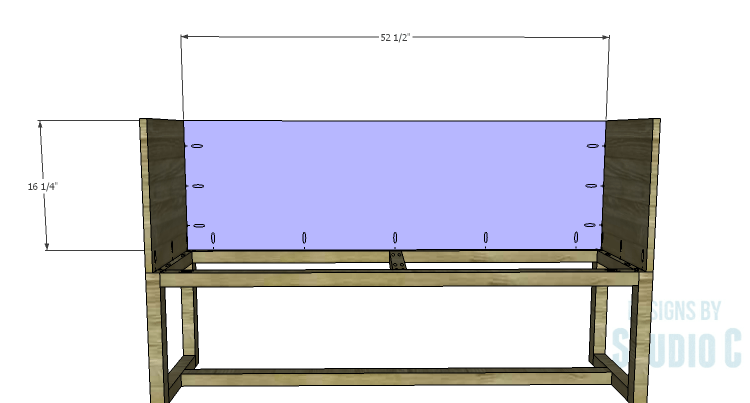 DIY Plans to Build a Katherine Buffet_Back