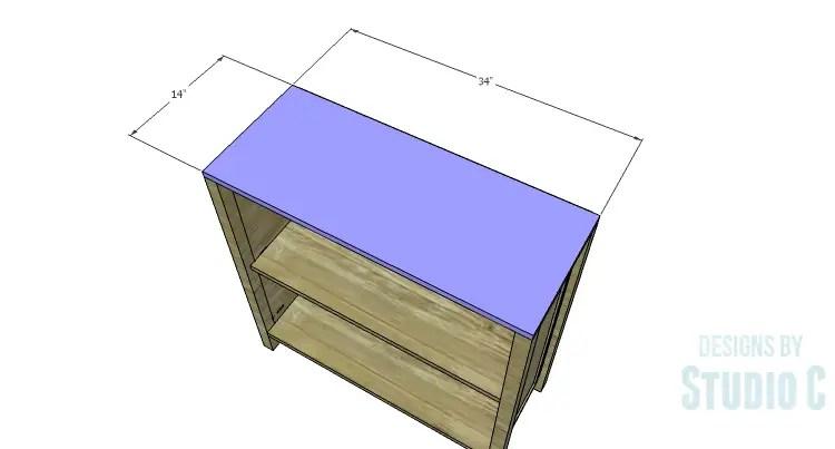 DIY Plans to Build a Trim Detail Cabinet_Top