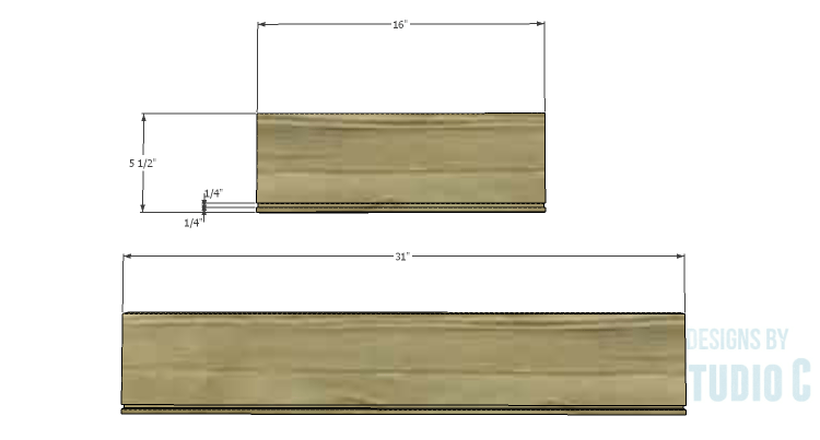 DIY Plans to Build a Brecken Dresser-Drawer 1