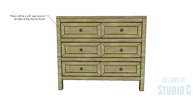 DIY Plans to Build a Brecken Dresser-Drawer Fronts 2