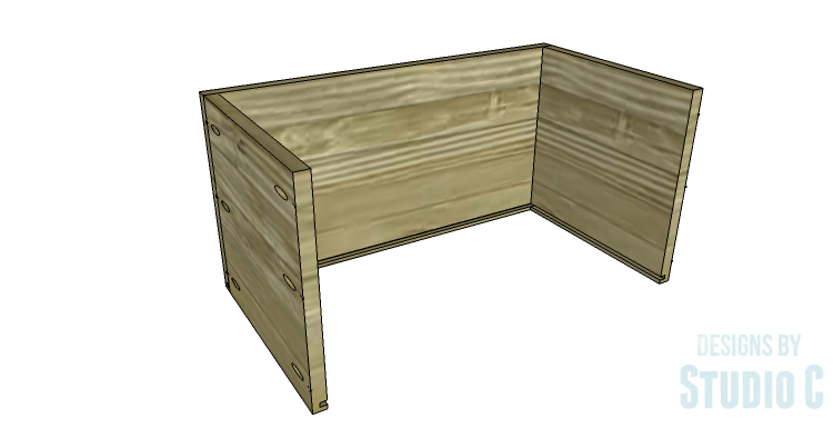 DIY Plans to Build a Coat Cabinet-Drawer 2