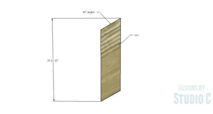 DIY Plans to Build a Brady Coffee Table-Base Sides 1
