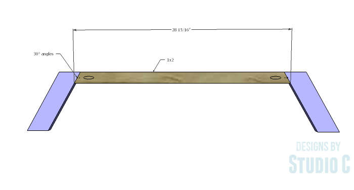 DIY Plans to Build a Brady Coffee Table-Base Sides 2