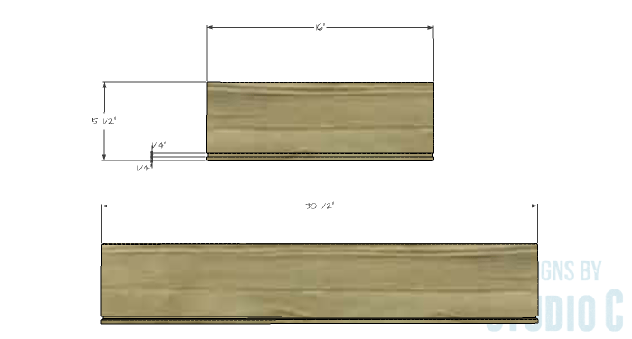 DIY Plans to Build a Braylon Chest-Drawer Box 1