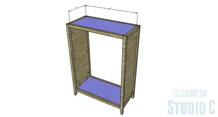 DIY Plans to Build a Braylon Chest-Top & Bottom