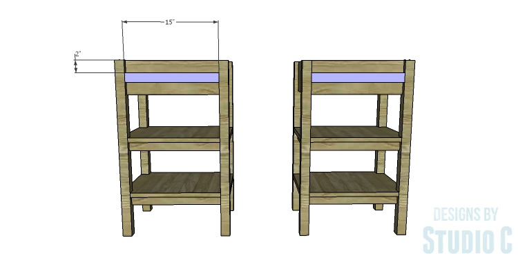 DIY Plans to Build an Open Shelf Desk-Drawer Spacers