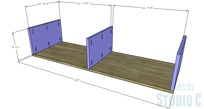 DIY Furniture Plans to Build a Contemporary Media Stand-Box 1