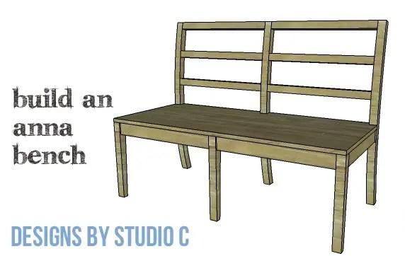 DIY Furniture Plans to Build an Anna Bench - Copy