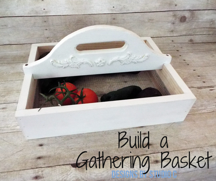 DIY Plans to Build a Vegetable Gathering Basket - Featured Image