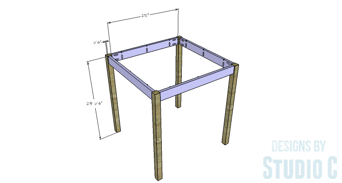 DIY Furniture Plans to Build a Simple Round Dining Table - Aprons