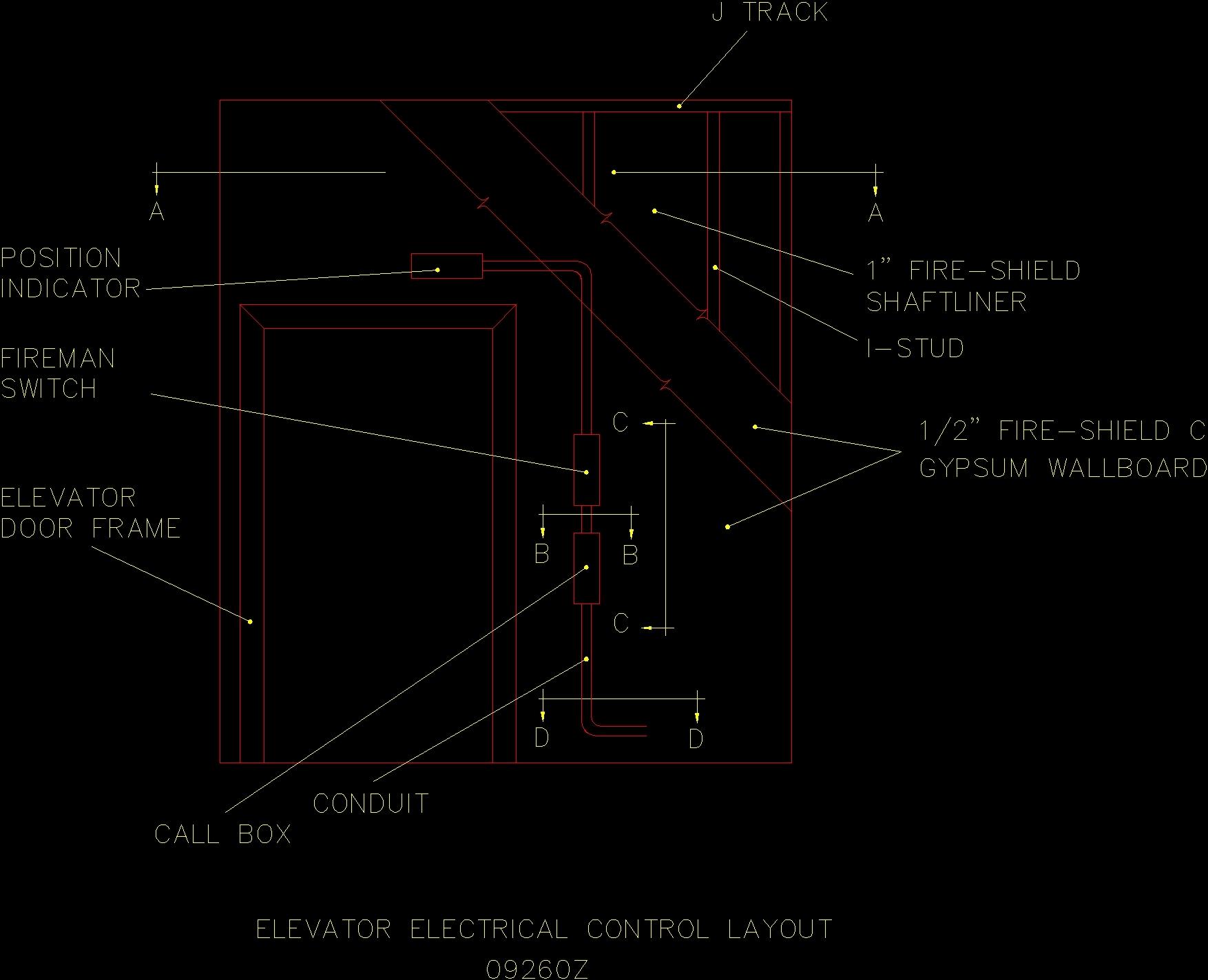 Elevator Dwg Detail For Autocad O Designs Cad