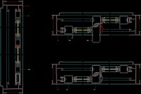 Sliding Door Autocad - Sliding Door Designs