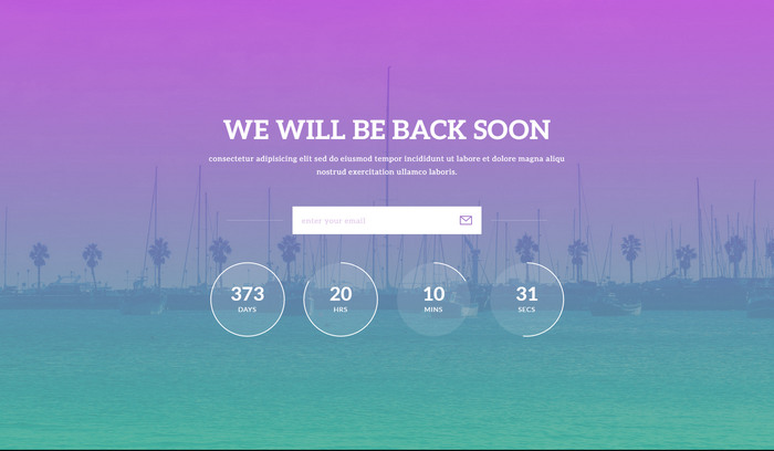 30+ Free HTML5 Website Under Construction, Coming Soon Templates