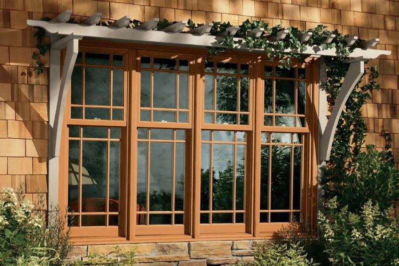 69+ Modern Wooden Window Designs Pictures with Glass for