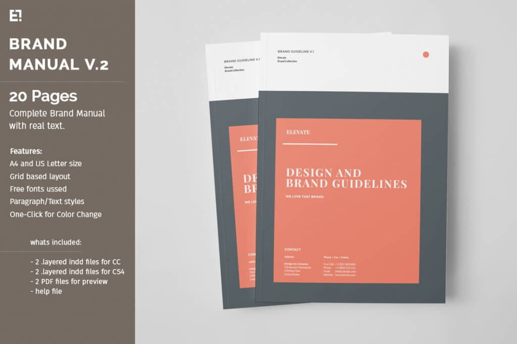 70+ Modern Corporate Brochure Templates Design Shack