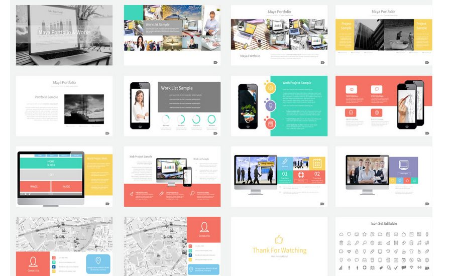 60+ Beautiful, Premium PowerPoint Presentation Templates Design Shack - product list samples