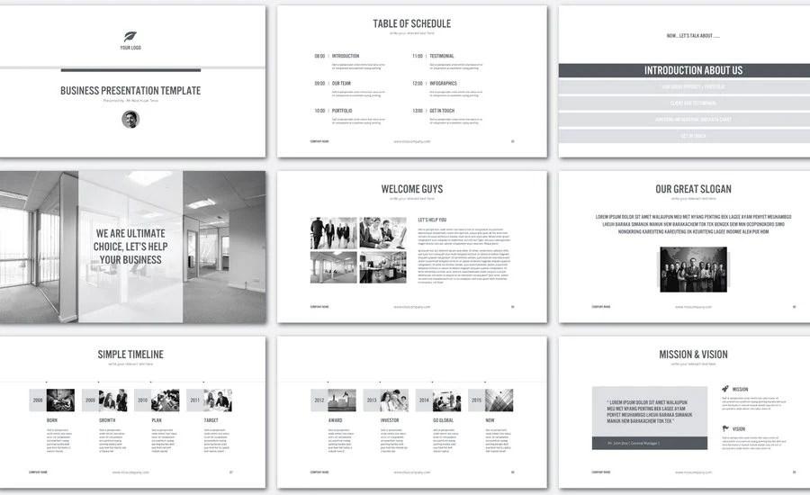 60+ Beautiful, Premium PowerPoint Presentation Templates Design Shack